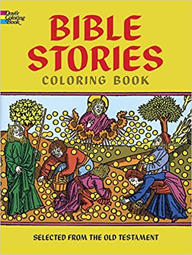 Bible Stories Coloring Book Dover Classic Books 9780486206233 Amazon