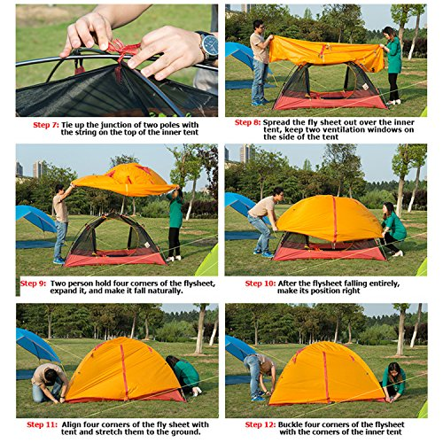 Sale!  sc 1 st  Fixintoo & WEANAS Professional Backpacking Tent 2 3 4 Person 3 Season ...