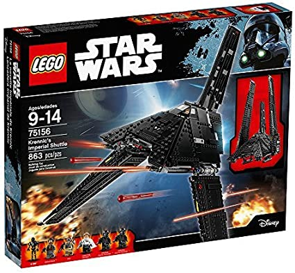 Lego Star Wars Krennic/'s Imperial Shuttle 75156 NEW in Box FREE Signed Delivery