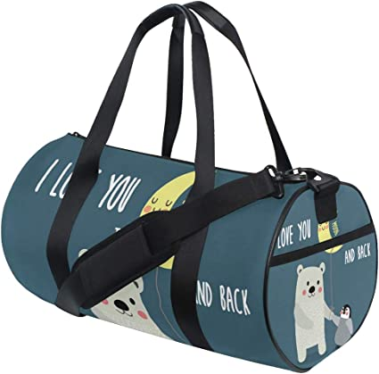 Travel Tote Luggage Weekender Duffle Bag The Gallery For Nautical Print Large Canvas shoulder bag with Shoe Compartment