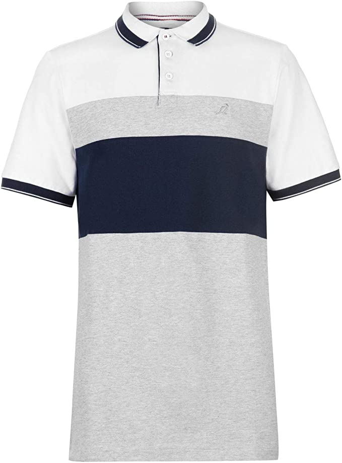 Kangol Hombre Slim Fit Camiseta Polo Navy Panel XXL: Amazon.es ...