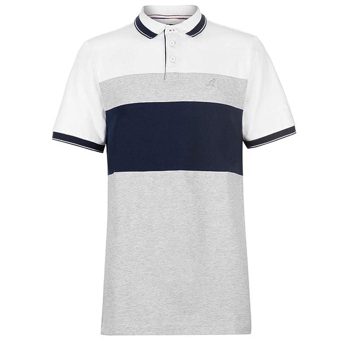 Kangol Hombre Slim Fit Camiseta Polo Navy Panel XXL: Amazon.es ...