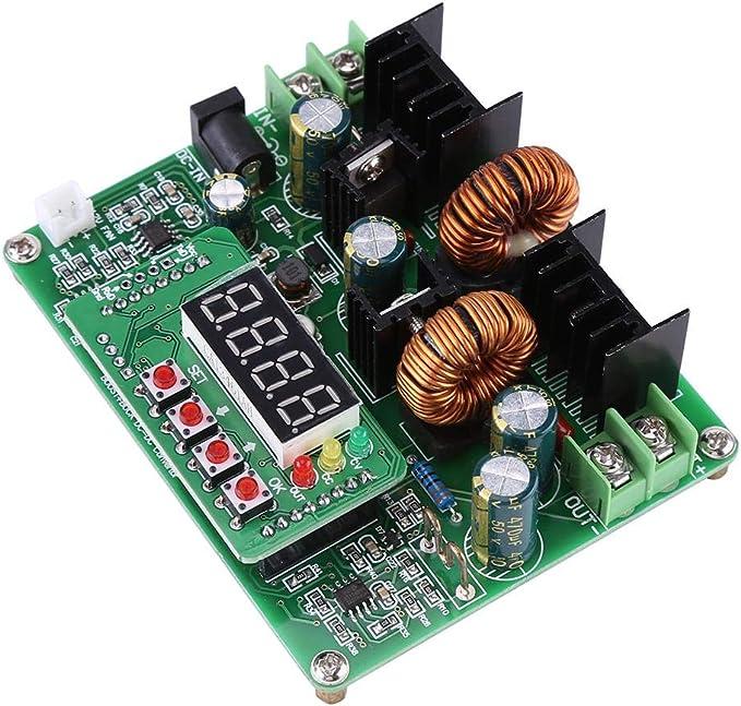 Convertisseur DC DC Step Up 6 A 100 W Boost r/églable avec Affichage voltm/ètre /él/évateur de Tension 5 V 6 V 9 V 12 V 15 V 18 V 24 V 28 V 30 V 35 V
