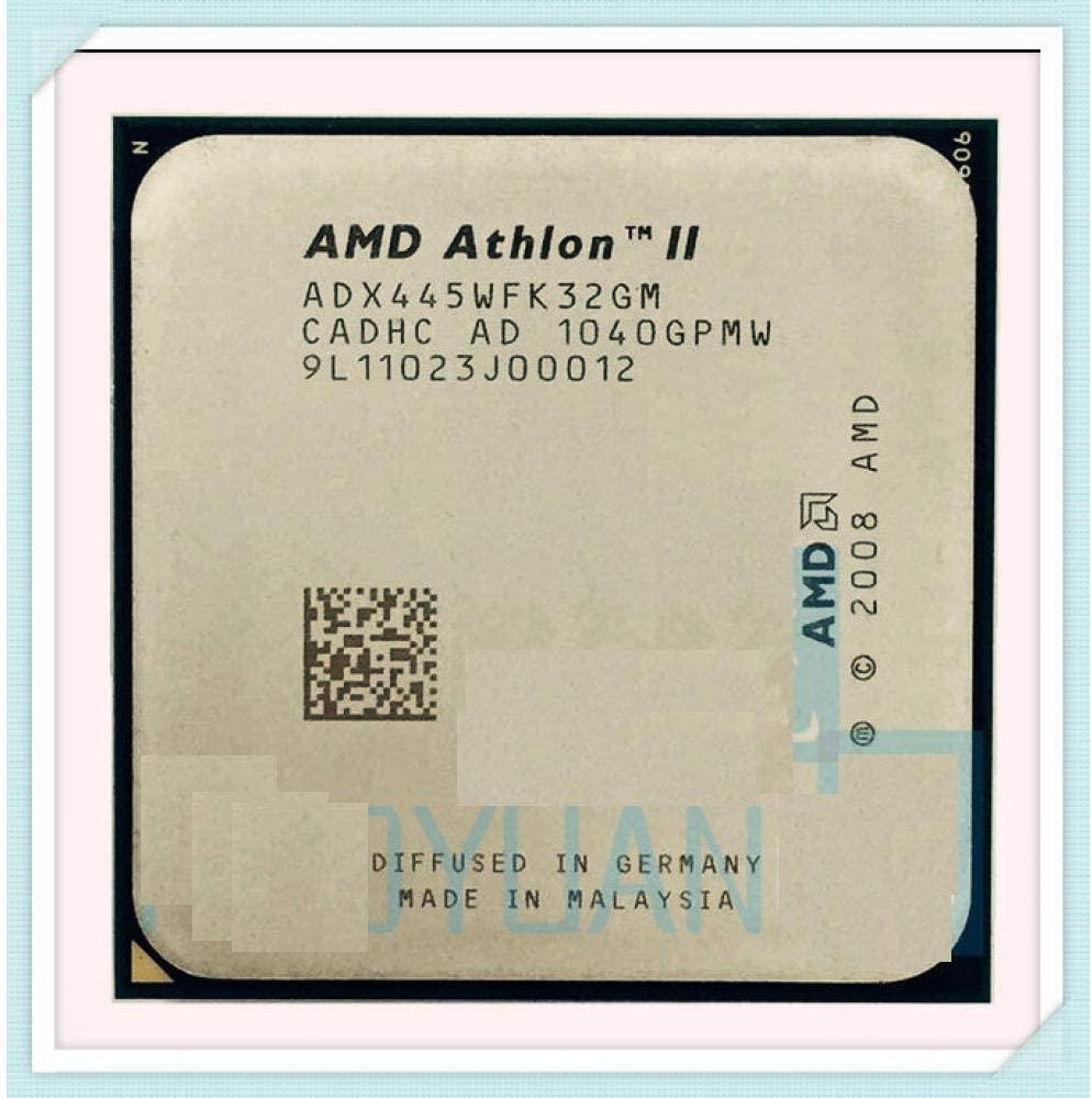 AMD Athlon II X3 445 3.1 GHz Triple-Core CPU Processor X3-445 ADX445WFK32GM Socket AM3 938pin