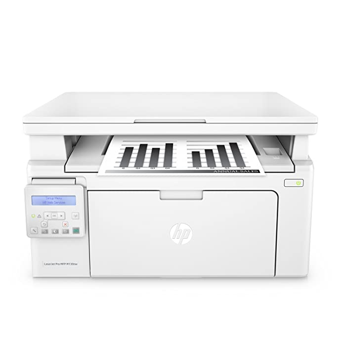 HP LaserJet Pro M130nw All-in-One Wireless Laser Printer, Amazon Dash Replenishment ready (G3Q58A). Replaces HP M125nw Laser Printer