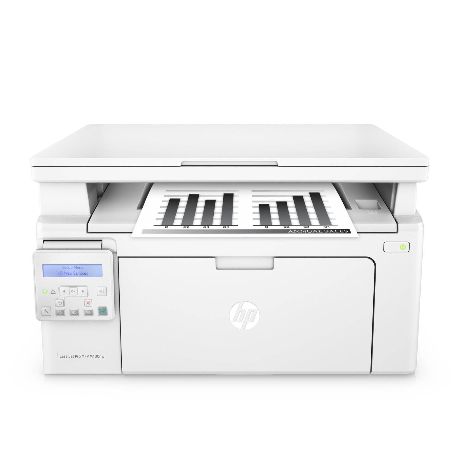 HP LaserJet Pro M130nw All-in-One Wireless Laser Printer, Amazon Dash Replenishment ready (G3Q58A). Replaces HP M125nw Laser Printer by HP