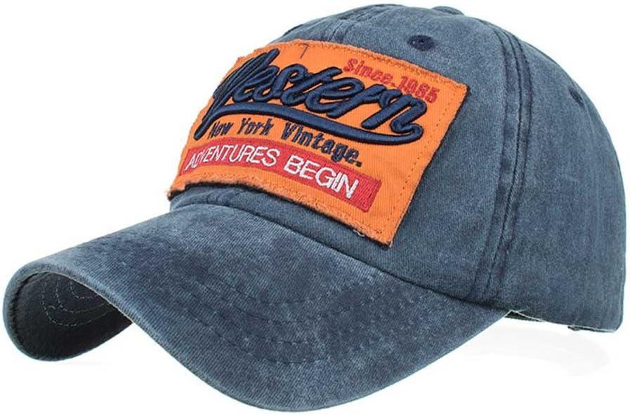 LEvivun Unisex Women Men Hip Pop Style Vintage Cool Star Embroidered Sport Baseball Hats Cap Snapback Edge Trucker Motor Racing Motorcycle Biker Hiking Hip Pop Hat