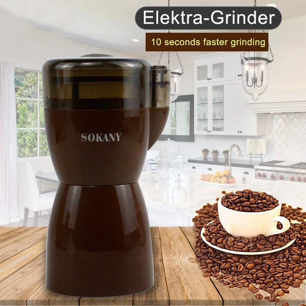 NAttnJf Molinillo de café Eléctrico De Molinillo de café La ...