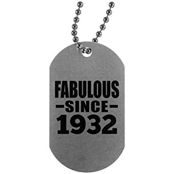 Birthday Gift Idea 87th Fabulous Since 1932