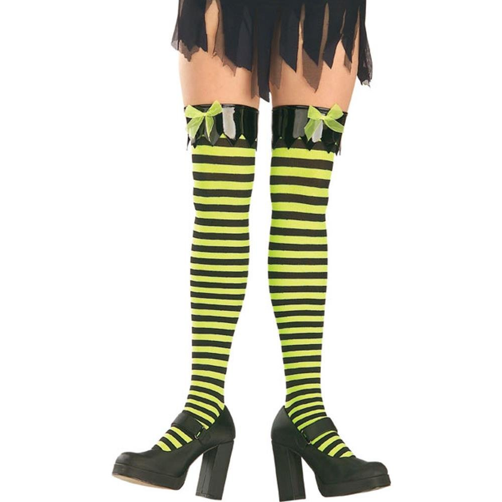 Witchy Costume Thigh High Hose