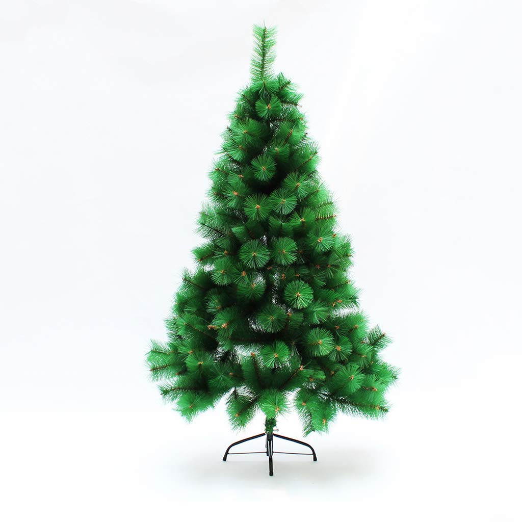 XF Christmas Tree- 1.5M 1.8M 2.1M 2.4M National Tree Christmas Day Decorations Ornaments Hinged White // (Size : 240cm(Height))