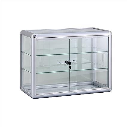 Amazon Roxydisplaytrade Counter Top Glass Case Standard