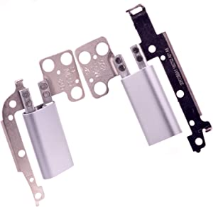 Deal4GO Right & Left LCD Hinges kit Replacement for Dell Inspiron 13 7000 7368 7378 P69G 360 Degree Axis Screen Hinge