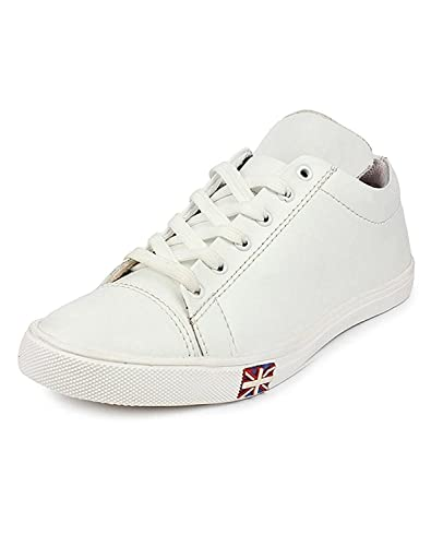 2e9ced6a8d36c aadi Men's White New Look Outdoor Casual Shoes