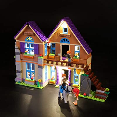 FYN Light Set for Friends Mia'S House Building Blocks Model - Led Light Kit Compatible with Lego 41369,NOT Included The Model,Plug and Play: Home & Kitchen