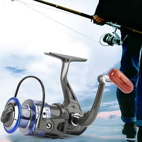 Carretes de Pesca Spinning-Fast Speed Aleación de Aluminio ...