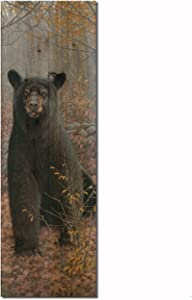 WGI-GALLERY Wooden Wall Art - Stonewall Black Bear - 4