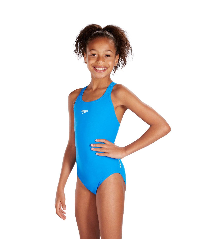 Amazon.com   Speedo Girl s Endurance+ Medalist Swimsuit - Size 30 Inches 96680ff4c