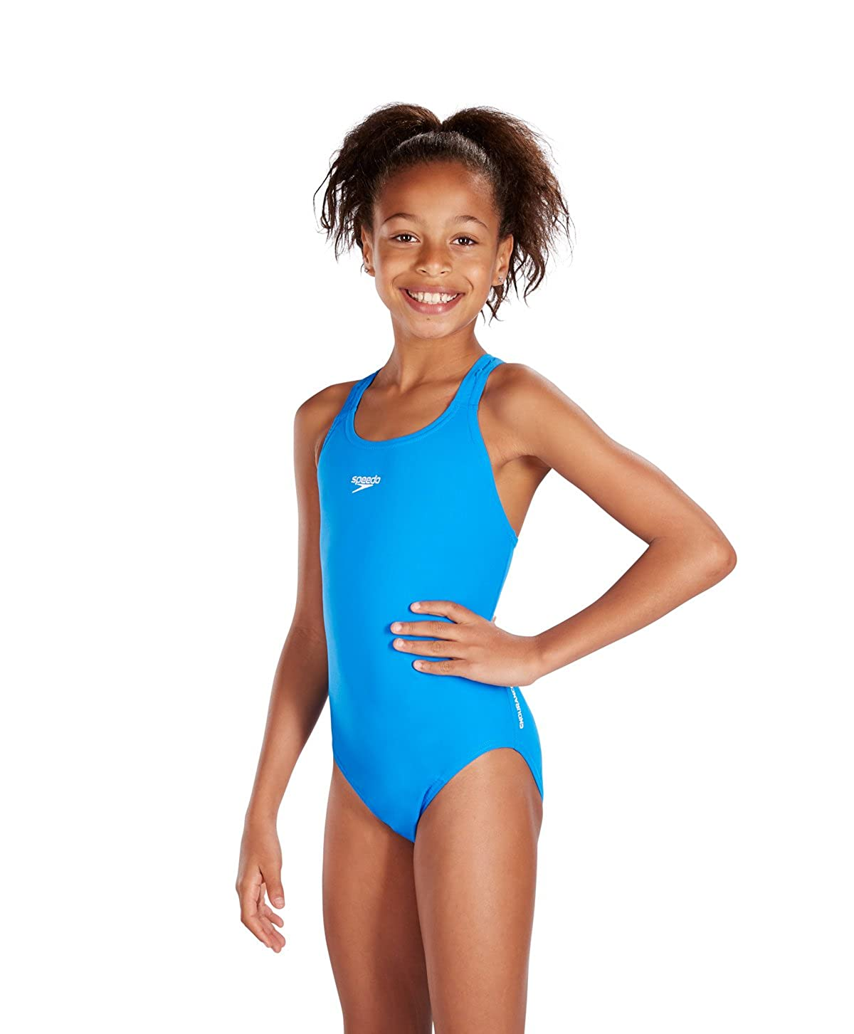 4399f27c81 Essential Endurance Medalist Swimsuit - Blue: Amazon.ca: Sports & Outdoors