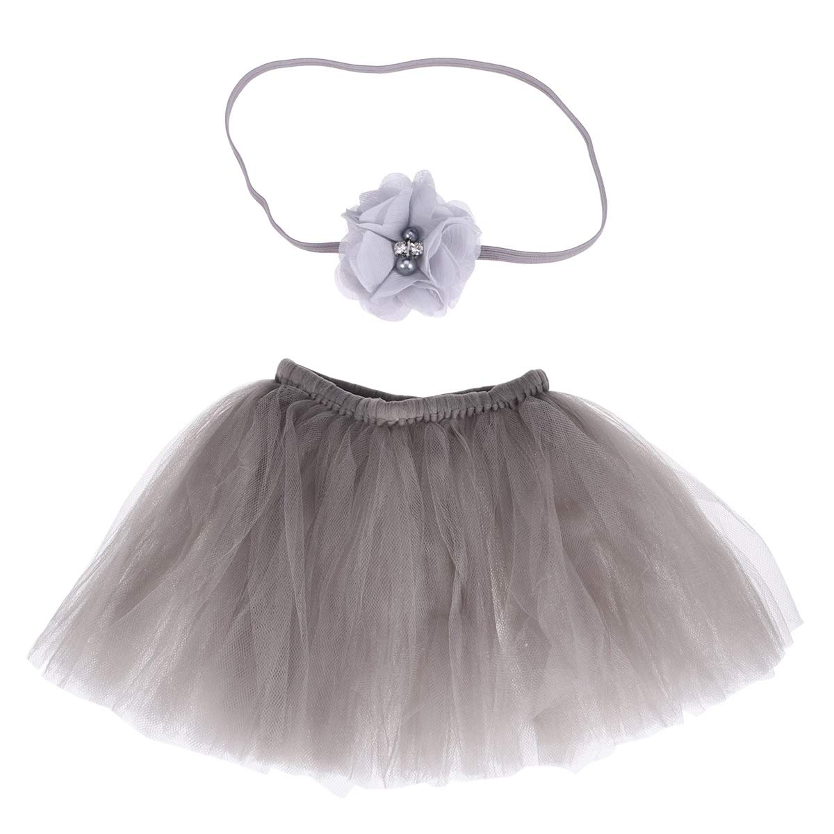 Newborn Baby Girl Tutu Jupe Bandeau Set Photo Photographie Prop Costume Outfit