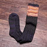 Y@H.Autumn and winter cotton socks national style retro simple fashion keep warm