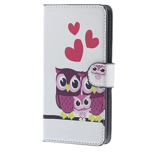 46 opinioni per Huawei Ascend Y635 Portafoglio,PU Cuoio Caso Guscio Con carte di credito slot