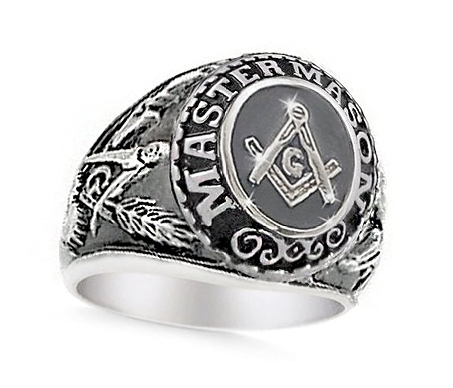 tur freemason ring edge carbide fj mens band jewelry rings tungsten bling beveled masonic