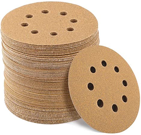 Bosch Wood Sanding Disc 125mm 125mm 120g Pack of 5