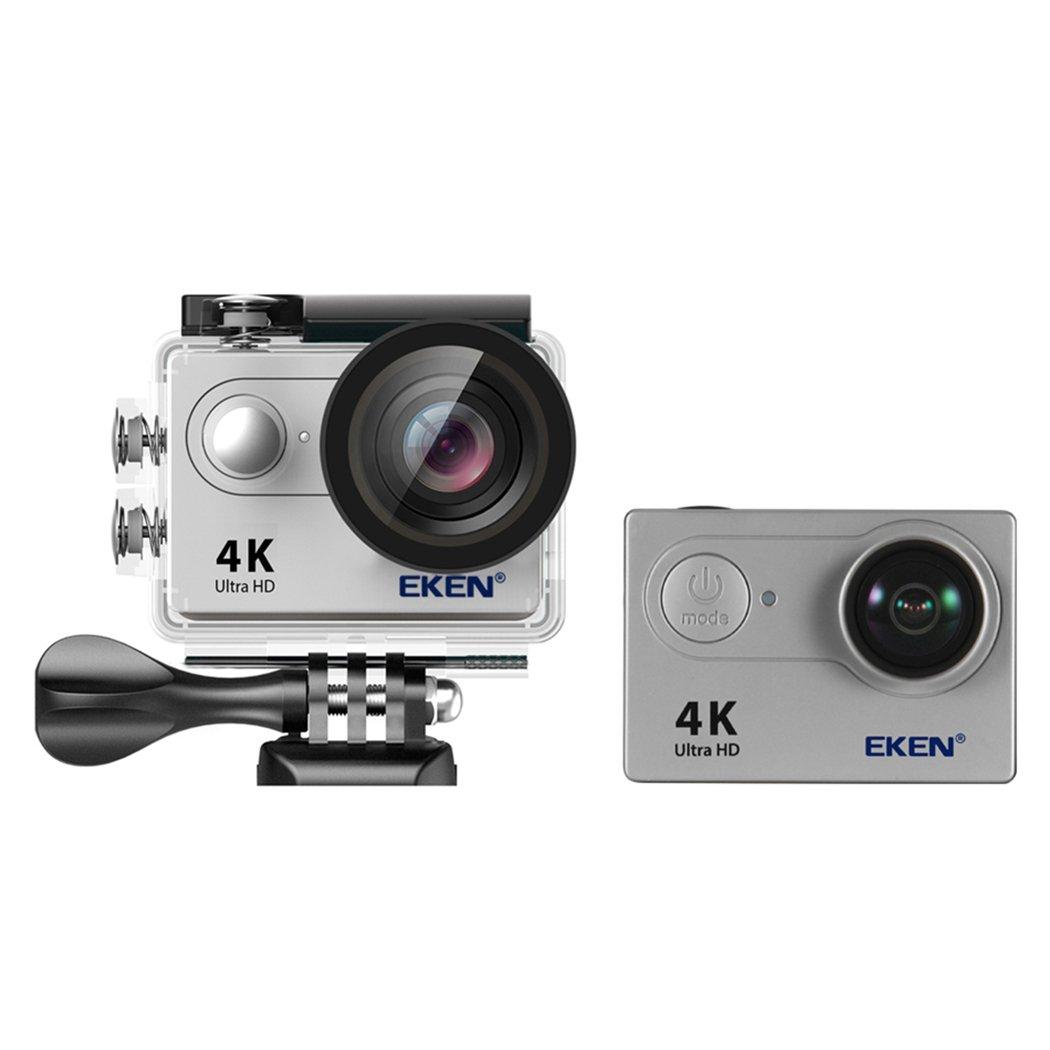 サクララ(Sakulala) 防水デジタルカメラ WIFI スポーツカメラ 2インチ液晶画面 4K 170度広角 アクションカメラ 1080P フルHD 超絶画質 手ブレ防止 20M-30M防水 旅行 多機能撮影 スキー スイミング (銀C) B07DQLHKFZ 銀B 銀B
