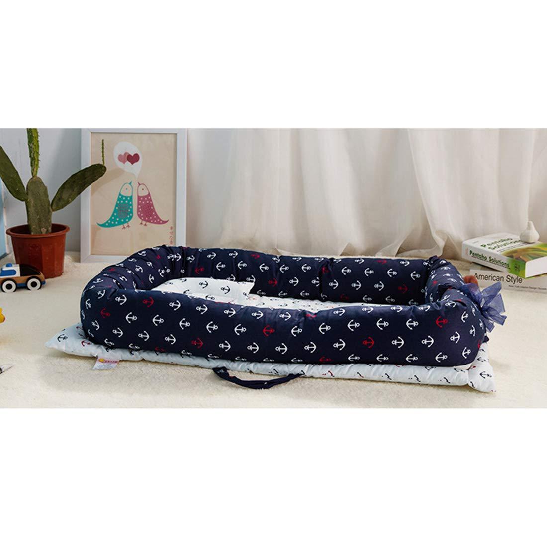 80cm Tragbare Baby-Krippe Faltbare Schlaf-Krippe f/ür Baby Rolanli Baby Bett
