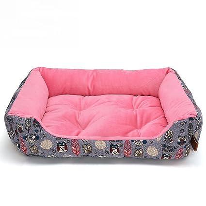 Yiuu Cómodo Casa para Mascotas Cama para Perros Perrera Gato del Perro De Perrito Sofa House