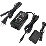 Gonine NP-FZ100 AC Power Adapter Kit for Sony BC-QZ1 Battery Charger and Alpha A7 III, A7R III, A9, A9R, A9S, A6600 Cameras.