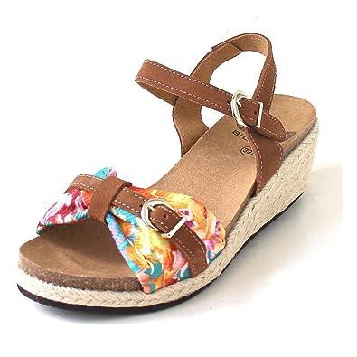 5b740d0bb94714 SCHOLL S.A - Scholl Sandales Compensées Vale Brun - 37: Amazon.fr:  Chaussures et Sacs