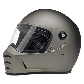 Biltwell Lane divisor sólido Full-Face – Casco de Moto soporte de titanio