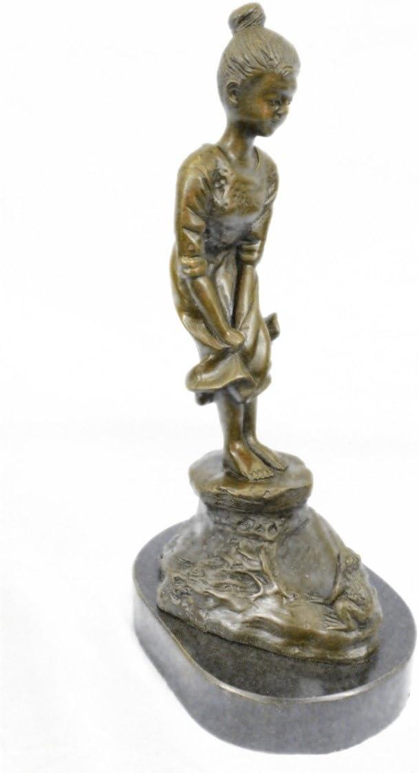 Bronze Sculpture Signed Original Eisenberg Art Deco Sty Statue Figurine Figure