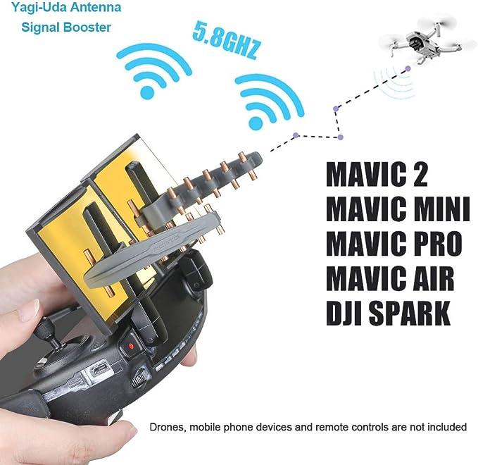 LUNAH Amplificador portátil de 5,8 GHz Drone Yagi-UDA ...