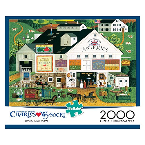 Charles Wysocki: Peppercricket Farms 2000-pc. Puzzle