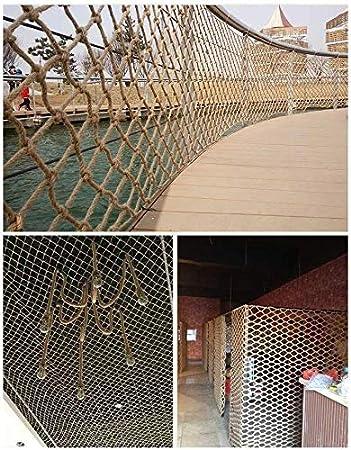 Decoración de cuerda de cáñamo balcón red de protección de la escalera de aislamiento neta neta red de escalada deportes al aire libre a menudo se utiliza for escaleras, ventanas, jardines, escalada,: