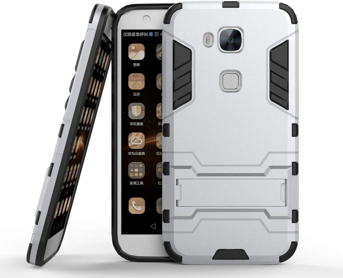 tinyue® Funda para Huawei G8 / Huawei GX8, Soft TPU + Duro PC ...