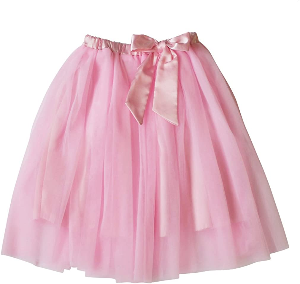 Satsuma Designs Tulle Skirt With Satin Bow