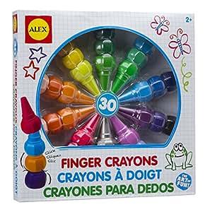 ALEX Toys Artist Studio 30 Finger Crayons
