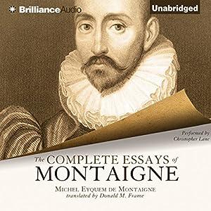 Montaigne essays frame translation