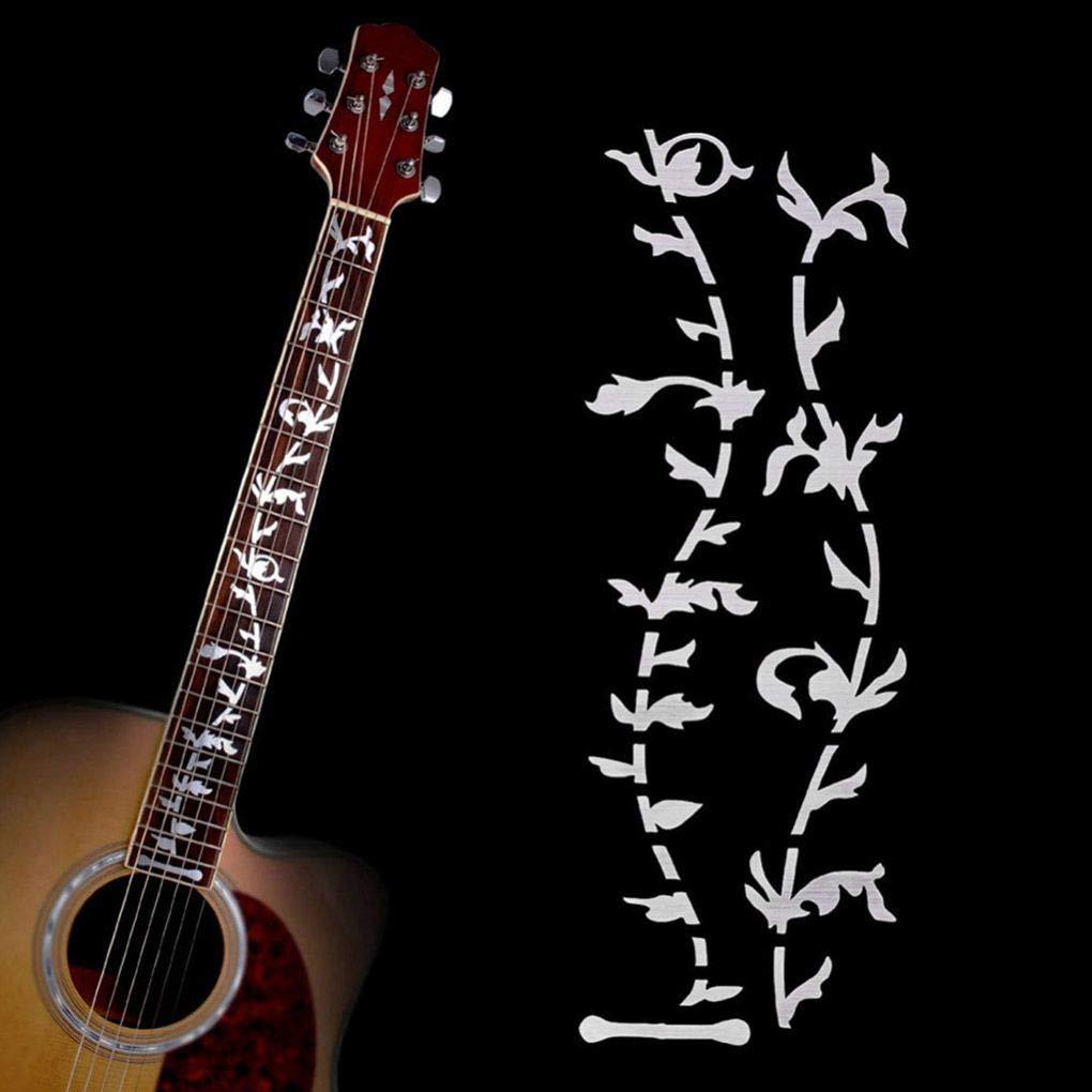 Ben-gi Árbol de la Vida Música Guitarra eléctrica acústica Cuello fácil Utilizar Pegatinas Guitarra Bricolaje Accesorios: Amazon.es: Hogar
