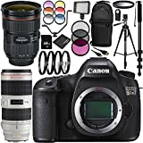 Canon EOS 5DS DSLR Camera with EF 24-70mm f/2.8L II USM Lens & EF 70-200mm f/2.8L IS II USM Lens 28PC Accessory Kit - Includes 64GB Memory Card + MORE