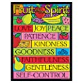 Trend Enterprises Inc Fruit Of The Spirit Learning Chart 17 X 22