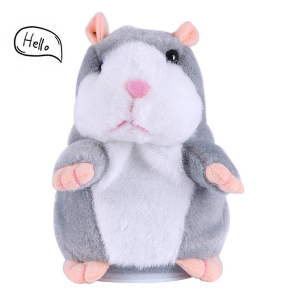 achat Peluche Parlante Hamster,Talking hamster Pet Interactive Peluche Hamster Sound Recording Hamster,Jouets pour Bébé Enfant pas cher prix
