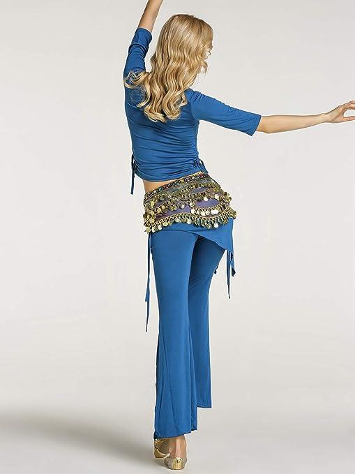 Zengbang Mujer Traje de Danza del Vientre Conjunto Set Top ...