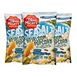 mighty pop popcorn oil - Tiny But Mighty Sea Salt Heirloom Popcorn - Popped, Pack of 3