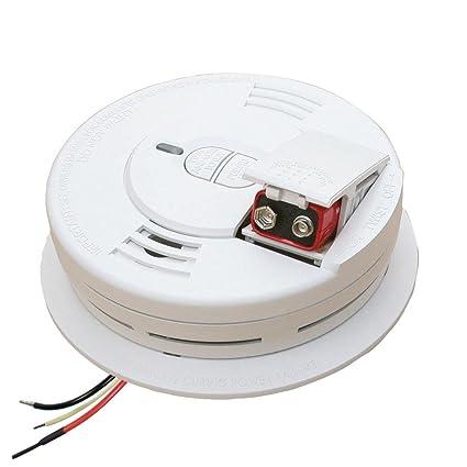 kidde 1276 ac hardwired smoke alarm i12060 w hush feature smoke