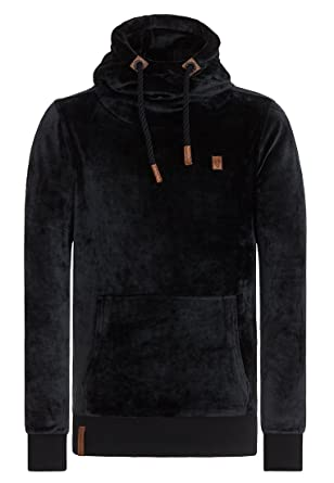 Naketano Men's Hoody Supapimmel Mack III Black, ...